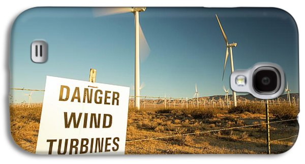 Part Of The Tehachapi Pass Wind Farm Galaxy S4 Case
