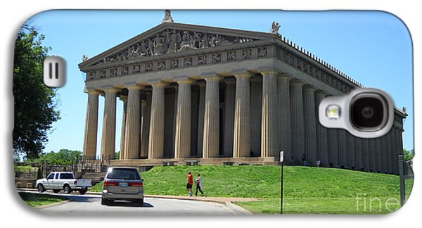 Parthenon In Nashville Galaxy S4 Case by Paula Talbert