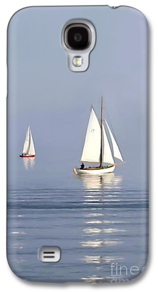 Parting Fog Galaxy S4 Case by Paul Tagliamonte