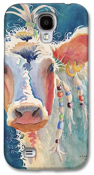 Party Gal - Cow Galaxy S4 Case by Deb  Harclerode
