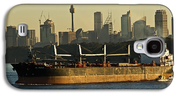 Galaxy S4 Case featuring the photograph Passing Sydney In The Sunset by Miroslava Jurcik