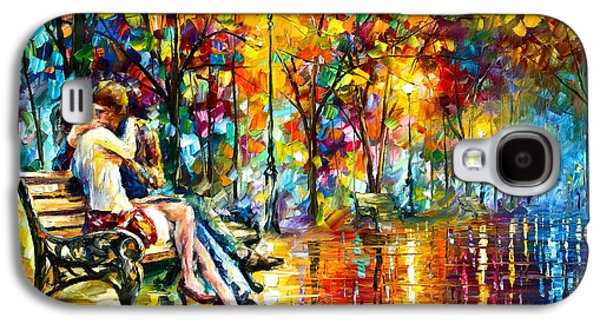 Passion Evening -  New Galaxy S4 Case by Leonid Afremov
