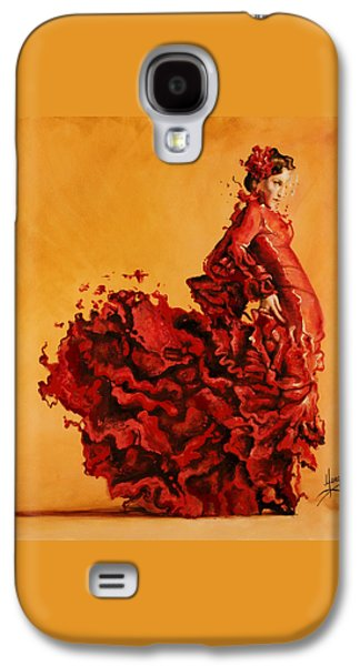 Passion Galaxy S4 Case by Karina Llergo