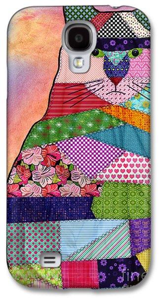 Patchwork Kitty Galaxy S4 Case by Juli Scalzi