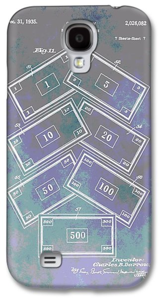Patent Art Money Galaxy S4 Case by Dan Sproul