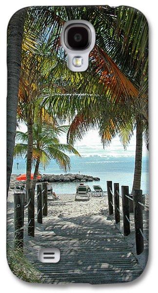 Path To Smathers Beach - Key West Galaxy S4 Case by Frank Mari