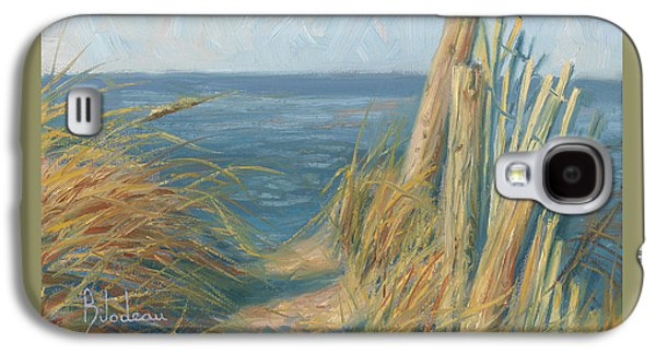Path To The Beach Galaxy S4 Case by Lucie Bilodeau