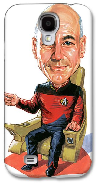 Patrick Stewart As Jean-luc Picard Galaxy S4 Case by Art