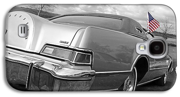 Patriotic Lincoln Continental 1976 Galaxy S4 Case by Gill Billington