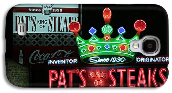 Pat's King Of Steaks Galaxy S4 Case by Stephen Stookey