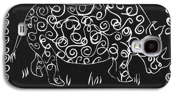 Patterned Rhino Galaxy S4 Case by Caroline Street