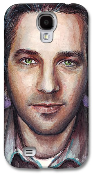 Paul Rudd Portrait Galaxy S4 Case