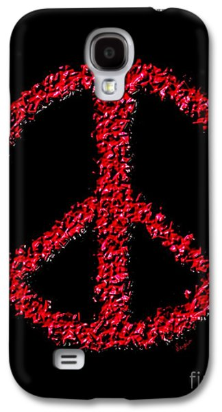 Peace ? Galaxy S4 Case by Sergio B