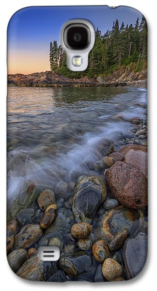 Peace And Quiet On Little Hunters Beach Galaxy S4 Case by Rick Berk