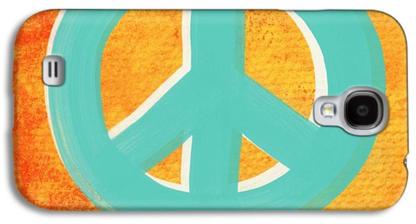 Peace Galaxy S4 Case by Linda Woods