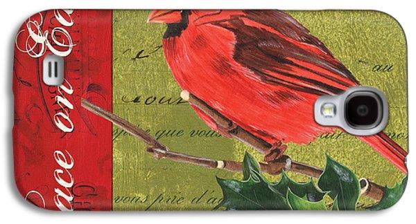 Cardinal Galaxy S4 Case - Peace On Earth 2 by Debbie DeWitt