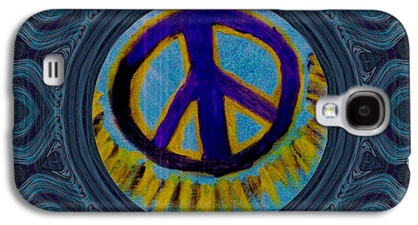 Peace On In Collage Style Galaxy S4 Case