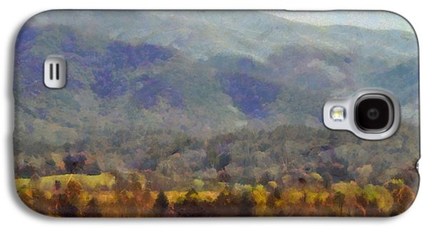 Peaceful Morning In The Smoky Mountains Galaxy S4 Case