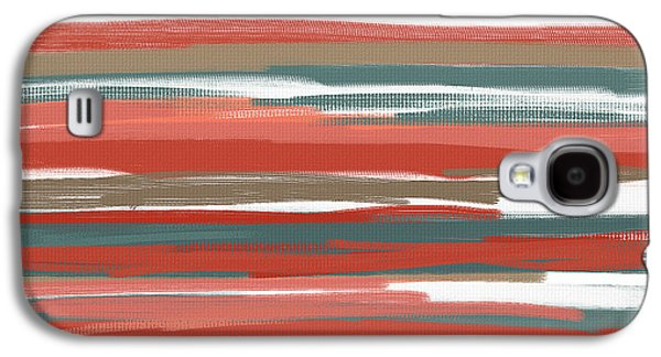 Peach And Neutrals Galaxy S4 Case by Lourry Legarde