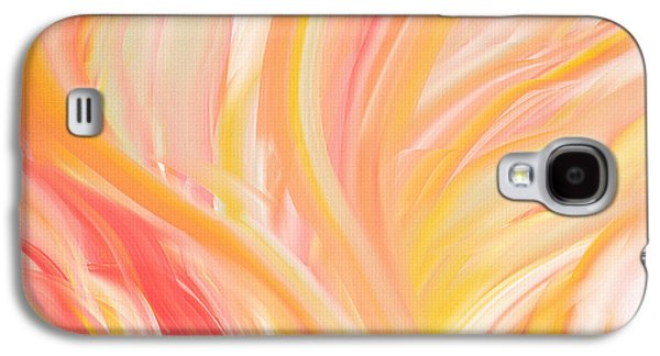 Peach Flare Galaxy S4 Case by Lourry Legarde