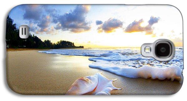 Beach Galaxy S4 Case - Peaches N' Cream by Sean Davey