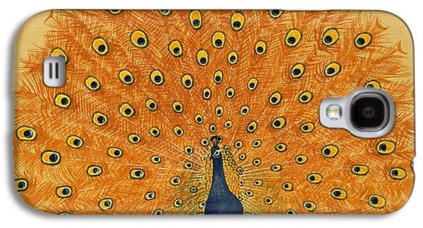 Peacock Galaxy S4 Case by English School