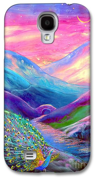 Magician Galaxy S4 Case - Peacock Magic by Jane Small