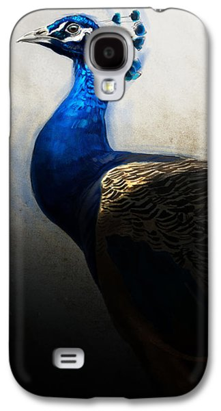 Peacock Galaxy S4 Case - Peacock Portrait by Aaron Blaise