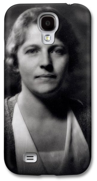 Pearl Buck 1892-1973 Galaxy S4 Case by Arnold Genthe