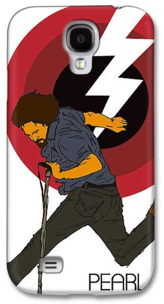 Pearl Jam Lightning Bolt Galaxy S4 Case by Tomas Raul Calvo Sanchez