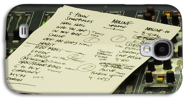 Pearl Jam Set List- Moline Galaxy S4 Case by Gary Koett