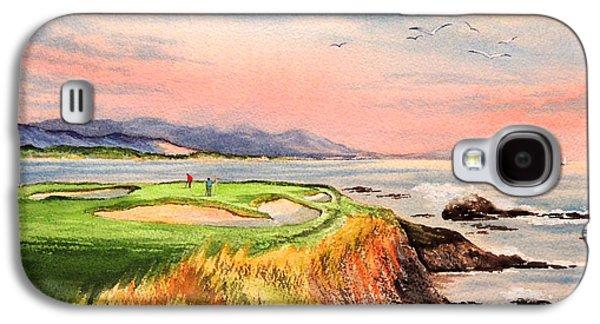 Pebble Beach Golf Course Hole 7 Galaxy S4 Case