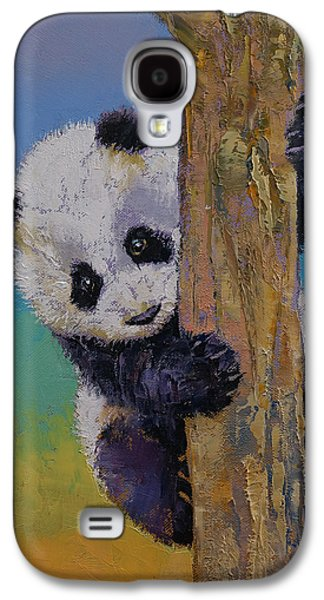 Peekaboo Galaxy S4 Case by Michael Creese