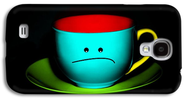 Peeved Colorful Cup And Saucer Galaxy S4 Case by Natalie Kinnear
