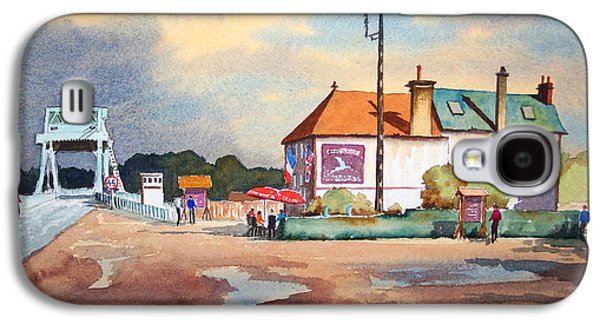 Pegasus Bridge And Cafe Gondree Galaxy S4 Case by Bill Holkham
