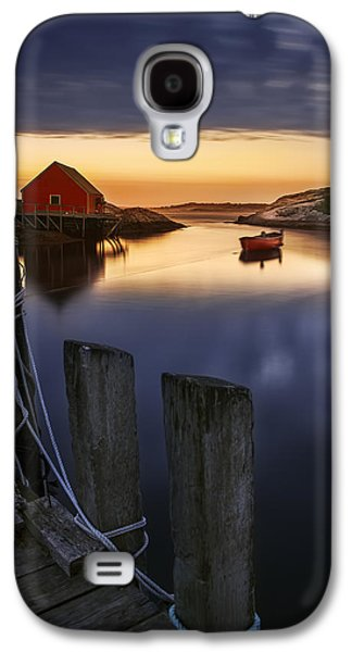 Peggy's Cove Harbour Galaxy S4 Case by Magda  Bognar