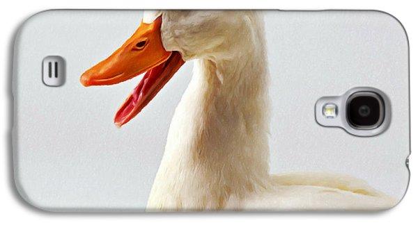 Pekin Ducks 1 Galaxy S4 Case by Lanjee Chee