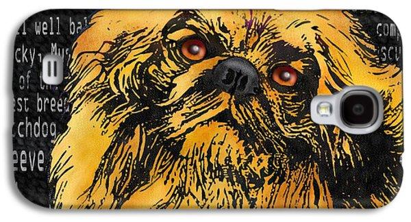 Pekingese - Worded Galaxy S4 Case