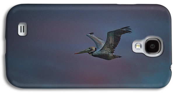 Pelican On The Wing Galaxy S4 Case by Bill Roberts