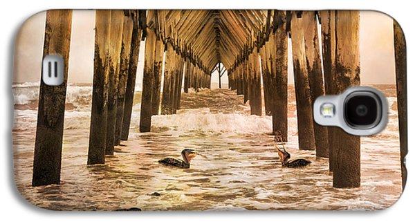 Pelican Paradise Galaxy S4 Case by Betsy Knapp