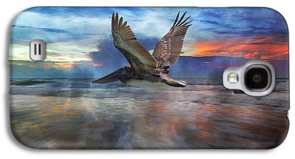 Pelican Sunrise Galaxy S4 Case by Betsy Knapp