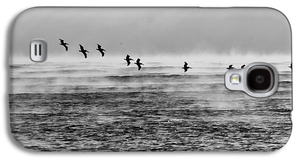 Pelicans In The Mist Galaxy S4 Case