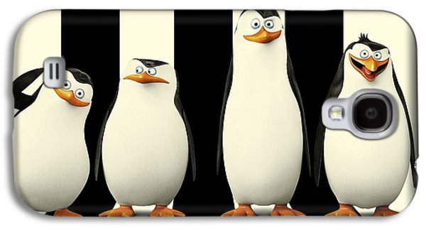 Penguins Of Madagascar Galaxy S4 Case by Movie Poster Prints