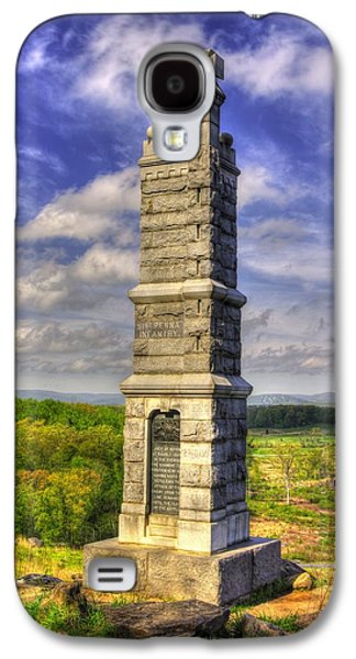 Pennsylvania At Gettysburg - 91st Pa Veteran Volunteer Infantry - Little Round Top Spring Galaxy S4 Case by Michael Mazaika