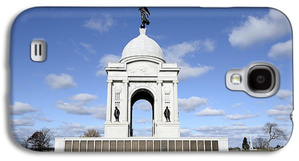 Pennsylvania Memorial At Gettysburg Battlefield Galaxy S4 Case
