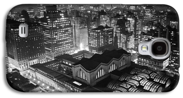 Pennsylvania Station At Night Galaxy S4 Case