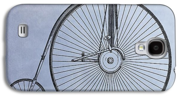 Penny Farthing Bicycle Galaxy S4 Case by Dan Sproul