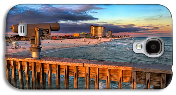 Pensacola Beach From The Pier Galaxy S4 Case