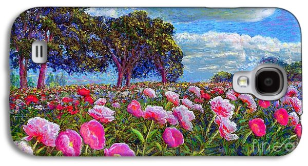 Impressionism Galaxy S4 Case - Peony Heaven by Jane Small