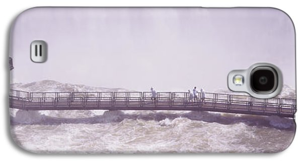 People On Cat Walks At Floodwaters Galaxy S4 Case by Panoramic Images
